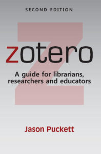 Zotero 2nd edition cover